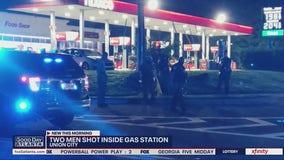 Two men shot inside Union City gas station