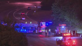 GSP: 7-year-old dead, 4 others injured in single-vehicle crash on I-85
