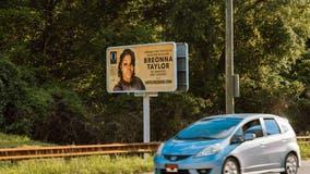 Kentucky vandals damage billboard of Breonna Taylor