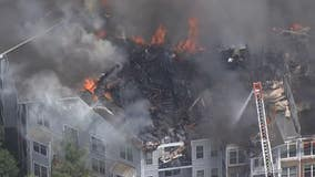 Red Cross helping nearly 100 families displaced by massive northeast Atlanta apartment fire