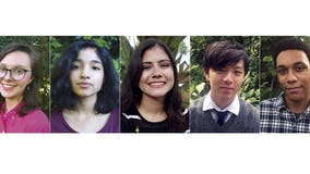 5 juniors from California to Texas named National Student Poets