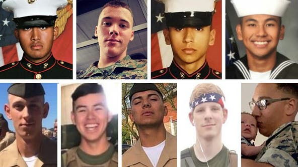'I thank them for the brave service': Trump says of 9 service members killed in training accident