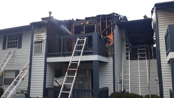 Grill causes fire at Gwinnett County apartments