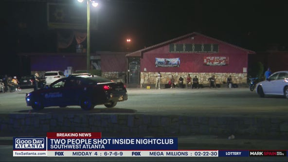2 hurt in shooting at southwest Atlanta club