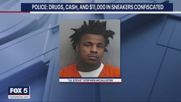 Convicted felon released by mistake taken back into custody during drag, sneaker bust