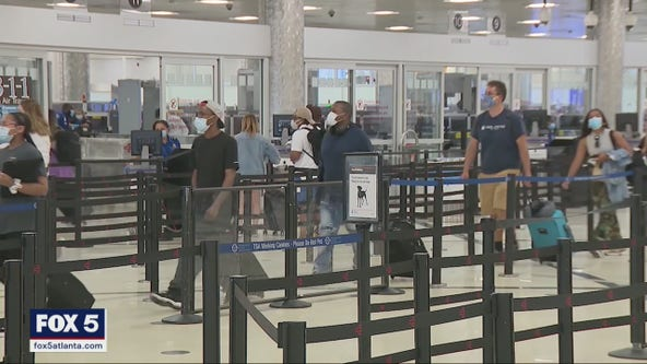 Atlanta's TSA employees concerned about new COVID-19 policy