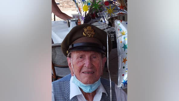 WWII veteran and former Mercer football player celebrates 100th birthday