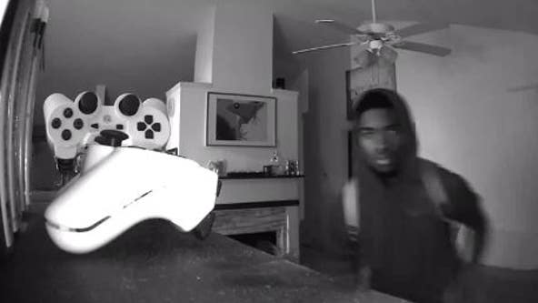Intruder caught on camera burglarizing Gwinnett County home as family slept