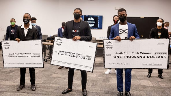 Atlanta's 'Humbl Hustlr' foundation hosts entrepreneur competition, Vine City clean up