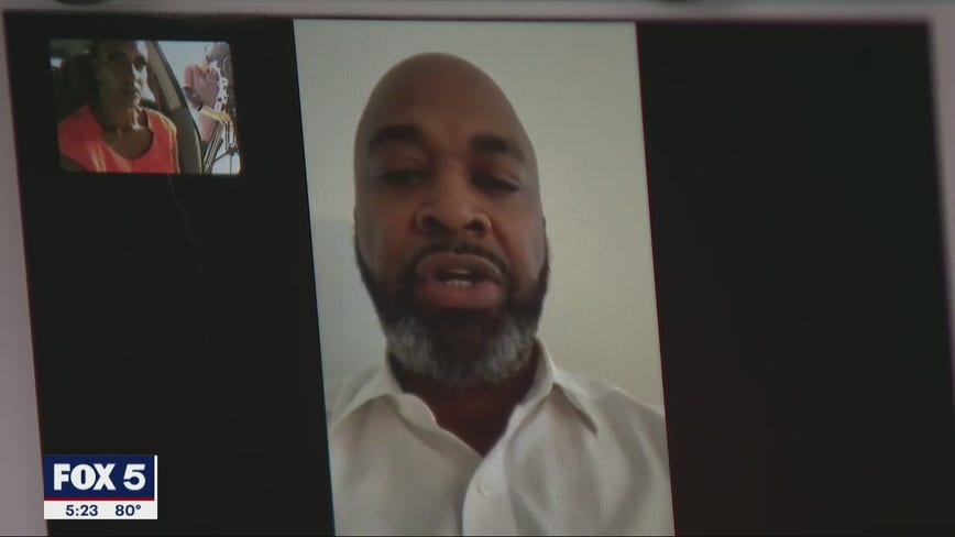 Former Atlanta council member shares message with the public after COVID-19 recovery