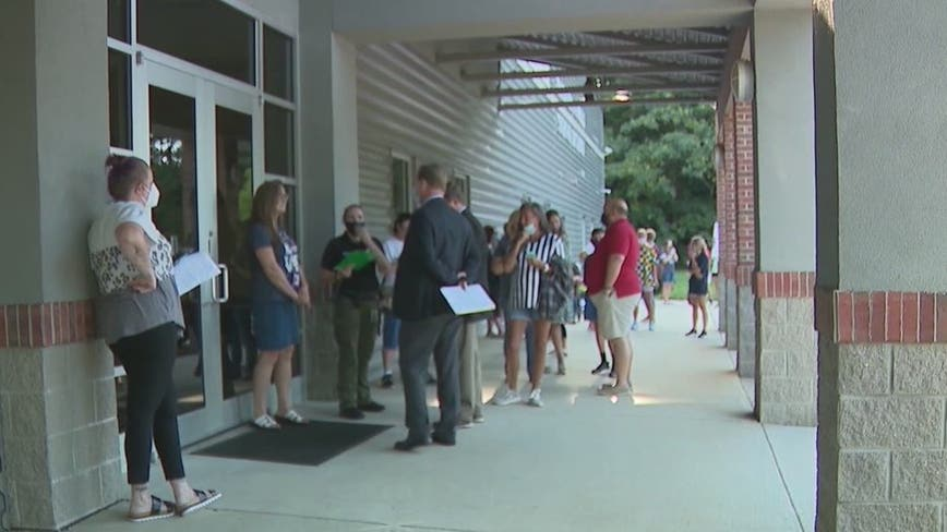 No masks required as Forsyth County students head back to class