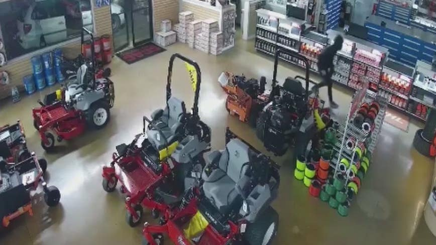 Supsects steal thousands of dollars of equipment in Cherokee County
