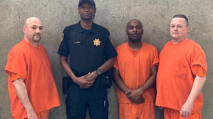 Georgia deputy who suffered medical emergency and was saved by inmates returns to work