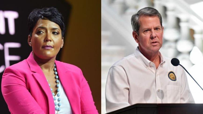Gov. Kemp withdraws lawsuit against Atlanta mayor