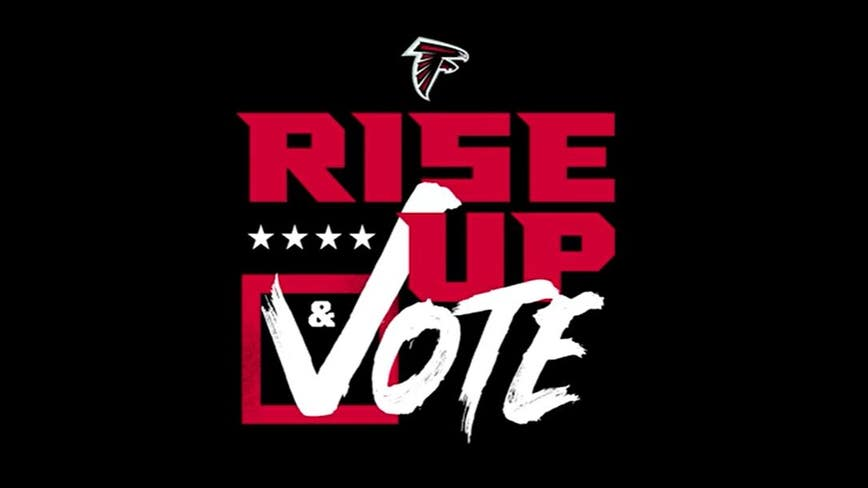 Falcons launch 'Rise Up & Vote' initiative