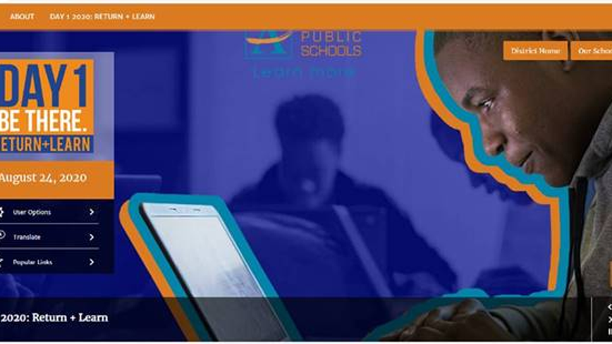 APS launches website for opening of school year