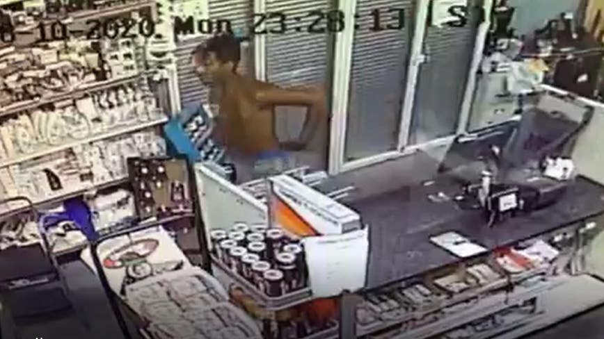 Police searching for Family Dollar burglary suspect