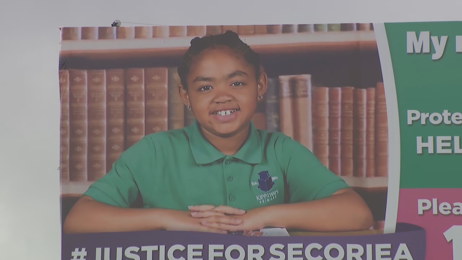 Secoria Turner was 8-years-old when she was shot and killed outside the Wendy's where Rayshard Brooks was killed in the summer of 2020.