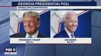 Close presidential race in Georgia