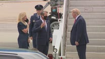 President Trump arrives in Atlanta
