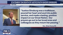 Georgia political world weighs in on Ruth Bader Ginsburg's death