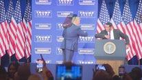 Herschel Walker introduces President Trump