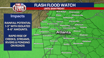 Sally weakens to tropical depression as it moves inland, Flash Flood Watch for Georgia