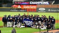 Ozuna, Braves beat Miami, clinch 3rd straight NL East title
