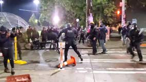 Seattle officer who ran over man's head with bicycle facing criminal probe