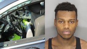 Police: Atlanta fugitive charged with burglarizing, vandalizing patrol cars