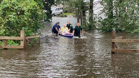 One confirmed dead, another missing after Hurricane Sally washes away Panhandle roads, bridges