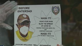 'Masked Mayor' encourages residents to 'Mask Up' during pandemic