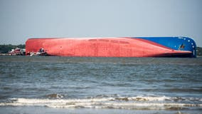 Expert: Loads left cargo ship unstable when it overturned off Georgia