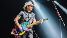 After opening free grocery store, Brad Paisley pledges to donate 1 million meals to food banks
