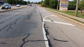 Pedestrian struck, killed near Snellville intersection, driver sought