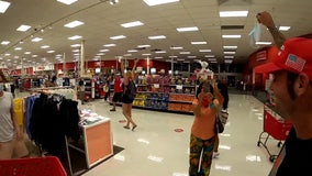 Protesters fined for anti-mask protest in South Florida Target store