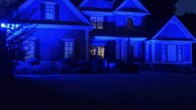 Cherokee County swapping their porch lights for blue ones