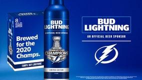 Bud Light offering Lightning-inspired bottle, free beer deal following Bolts' win