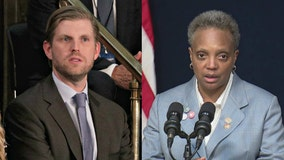 'Class act': Text messages show Eric Trump's support for Mayor Lightfoot's handling of riots