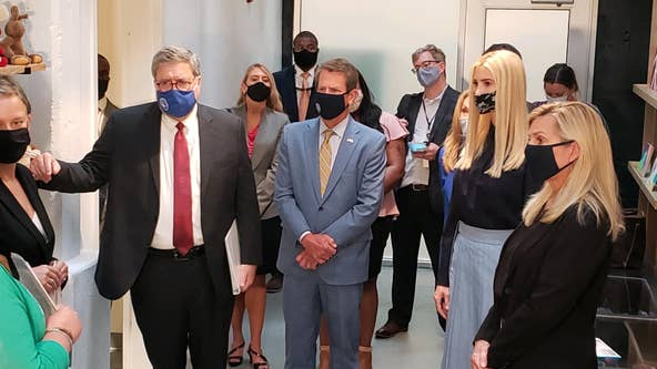 Ivanka Trump, Attorney General Barr tour child advocacy center in Atlanta
