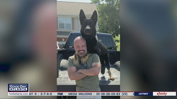 Alpharetta police duo making people smile while making a difference