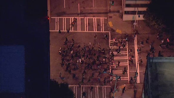Breonna Taylor Atlanta protest: Hundreds take the streets downtown