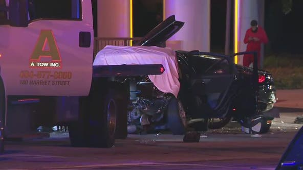 Troopers: Vehicles crash after high-speed pursuit in Midtown Atlanta