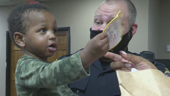 Georgia officer reunites with infant he saved