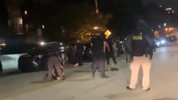 Video shows tense moments as Atlanta police arrest protestors
