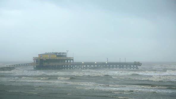 Beta weakens into tropical depression, brings dangerous flash flooding to Texas