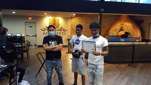 Teens celebrate completion of Fulton County Clubhouse for Youth program