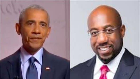 Obama endorses Warnock in Georgia senate race