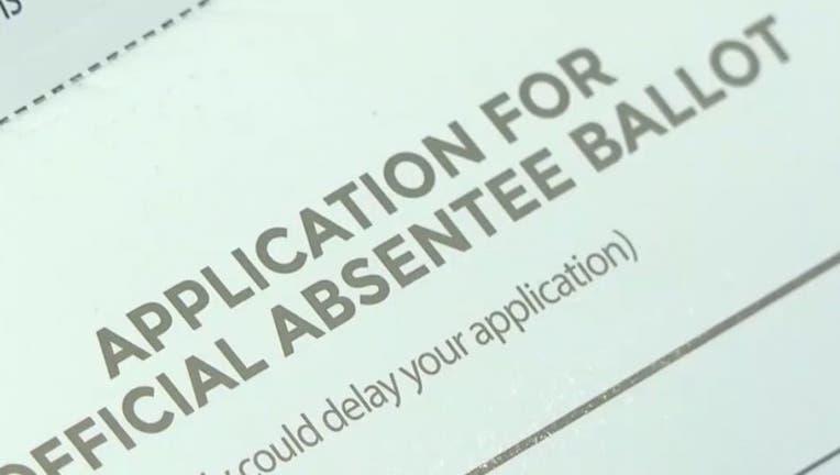 Georgia Absentee ballot application