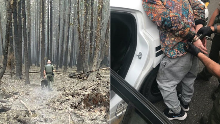 oregon wildfire looting arrests